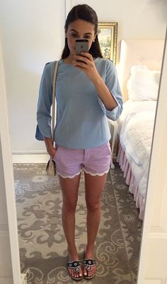 In love with those shorts