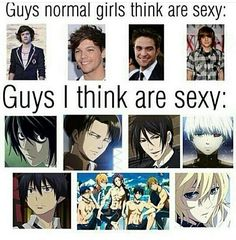 I can't lie, all those anime-guys are famous because of their sexynes