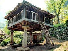 Gazebo, Pergola, Vernacular Architecture, Lake District, Beams, Bungalow, Tiny House, Spain, Backyard