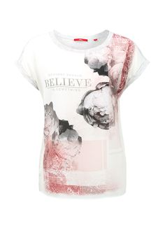 Blusenshirt mit Rippkragen von s.Oliver. Entdecken Sie jetzt topaktuelle Mode…