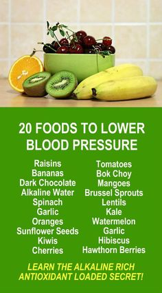 20 Foods To Lower Blood Pressure. #plantbased #health care