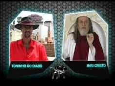 CQC: Palavras Cruzadas - Inri Cristo x Toninho do Diabo 13/04/09