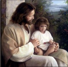 The grace of the Lord Jesus be with you all.  Revelation 22:21  NLT Wouldn't it be cool to have a picture of your child in Jesus' lap. Beats having him sit in Santa's lap.