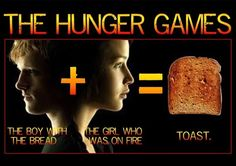 The Hunger Games. . WP ROY mu HF nun: we. Hunger games only went downhill after it became about romance...