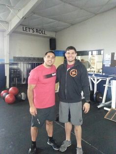Coach Rich and Jason Khalipa #CrossFit