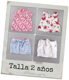 Blusa de flores 7.50€   Falda vaquera 4.10€   /    Blusa de flores 3.19€   Falda blanca 3.20€ http://www.quiquilo.es/20-2-anos