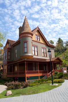 Heritage Park, Old Town San Diego - we stayed here a couple times at this Bed & Breakfast.  It was wonderful!