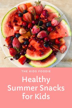 Some easy, healthy snack ideas when it get's hot and you can keep your cool. Perfect for kids and familes. Healthy Summer Snacks, Easy Snacks For Kids, Protein Mix, Baking With Kids, Baby Carrots, Fruit In Season, Muesli, Healthy Living, Hot