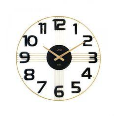 Dizajnové nástenné hodiny JVD HT051.3 40cm, nastenne hodiny, na stenu, dekoracie do bytu, dizajn
