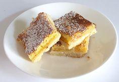 lemon bars: una base di frolla leggera e senza uova, coperta da uno strato di crema al limone. Un dolcetto anglosassone godurioso di Le Torte di Simona