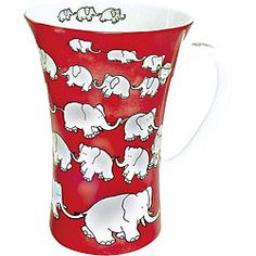 @Overstock - At Konitz, everything revolves around mugs. These 'chain of elephants red' mugs come in a set of four and feature a unique string of elephants holding trunk to tail over a red background.http://www.overstock.com/Home-Garden/Konitz-Chain-Of-Elephants-Red-Mega-Mugs-Set-of-4/5918883/product.html?CID=214117 $46.99