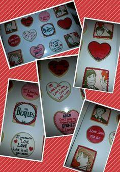 beatles for wedding or valentine card love love love
