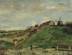 Van Gogh Museum - Amsterdam - The Hill of Montmartre with Stone Quarry