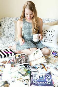Tiffany Leigh's Toronto Studio Tour #theeverygirl #working #blogger