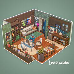 Sims 4 House Plans, Sims 4 House Building, Sims 4 Game Packs, Sims 4 Restaurant, Casas Club, Sims Love, Sims 4 House Design, Casas The Sims 4, Isometric Art