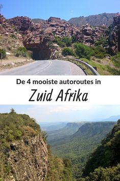 De 4 mooiste autoroutes in Zuid Afrika During a road trip through South Africa, the landscape changes every day. Discover the 4 most beautiful car routes in South Africa. South Africa Holidays, African Holidays, Sa Tourism, South Afrika, Holiday Resort, Travel Videos, Africa Travel, Trip Planning, Travel Inspiration