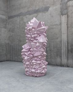 "ahnini:  jpegheaven:by Not Vital ""625"", 2010 Fiberglass and soap, 300 x 150 x 140cm"