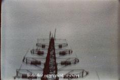 "Pinhole Photograph of an enormous antenna, on the ""turó de la Rovira"" in Barcelona 2011. f.173 - 9 Sec. - more on www.abiteof.com"