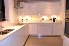 An Innova Luca Gloss White Kitchen - http://www.diy-kitchens.com/kitchens/luca-gloss-white/details/