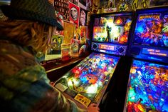 Before there was Nintendo or PlayStation, pinball machines ruled the roost - pinball is making a comeback!