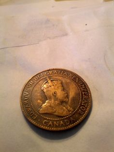 1903 Large Canadian Cent Beautiful coin coin by DrewsCollectibles, $5.20