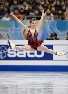 Ashley Wagner was awesome, wish she would've been ranked higher, she should've won.