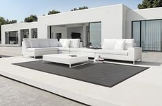 Outdoor Rugs that can be adapted to fit any space.