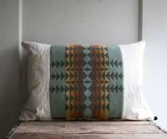 handmade pendleton pillow by littlebyrdvintage on Etsy, $56.00