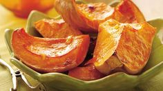 Put a citrus twist on squash. Butter, orange marmalade and spices are the flavor secrets.