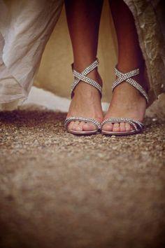 Biżuteryjne sandałki