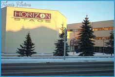 Horizon Stage Performing Arts Centre Map Edmonton