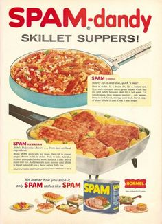 10 Best Vintage Spam Recipes Images Spam Recipes Retro