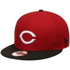 cb93ebac02aee Men s Cincinnati Reds New Era Red Black MLB All-Star Patch Redux 9FIFTY  Adjustable Hat