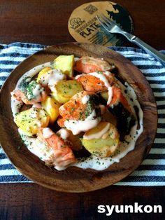 【簡単おすすめ!魚レシピ】鮭とじゃがいものこんがりマヨソース 山本ゆりオフィシャルブログ「含み笑いのカフェごはん