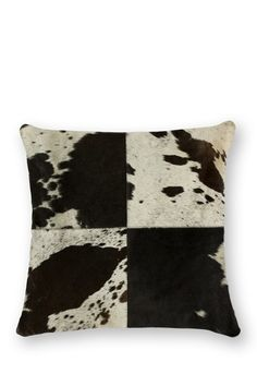 Torino Black & White Quarto Large Pillow by Kinetic on @HauteLook