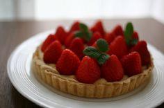 #Strawberry #Tart #yummy