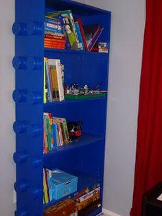 4daysgourmet: The Long-Awaited Lego Bookshelf