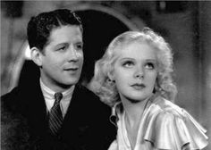 #RudyVallee and #AliceFaye from the film *George White's Scandals* (1934)