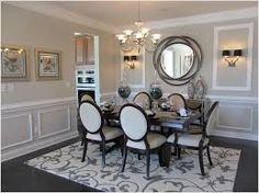 dining room with wainscoting - Google Search