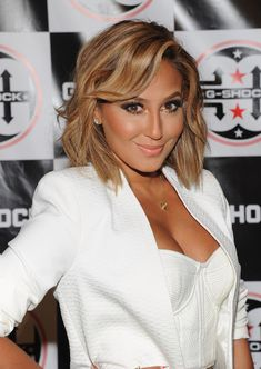 Adrienne Bailon Photos Photos - Singer Adrienne Bailon attends G-Shock Shock The World 2013 at Basketball City  on August 7, 2013 in New York City. - Celebs at the G-Shock Event in NYC