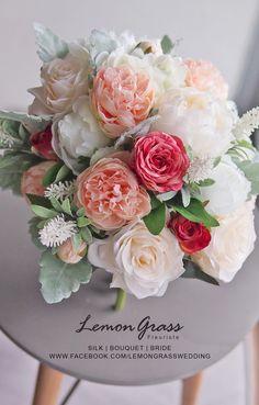 www.facebook.com/LemongrassWedding #flower #bride #bouquet #lemongrasswedding #bridebouquet #freshflowers #wedding #florist #corsage #weddings #bridesmaids #silkflowers