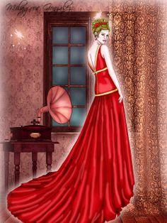 Ilustración con paint too sai y photoshop http://ilustracionmilagrosgonzalez.com