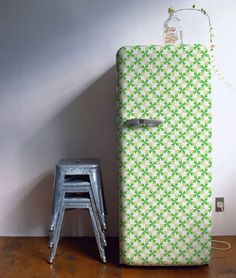decorating-refrigerator-with-wallpaper-1