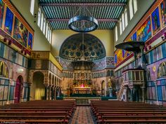 The beauty of the Newman University Church, Dublin. 10 of the best things to do in Dublin ..