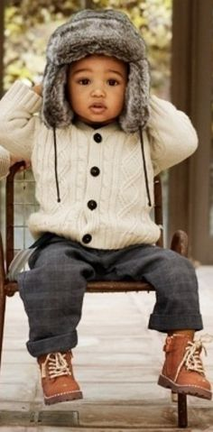 cool outfit for a little guy!