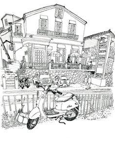 一歩まえへ - KIMIKOのカラフルスケッチ日記 blog Colorful Sketch 関本紀美子                                                                                                                                                      もっと見る