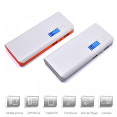 The high Dual USB Charging Power Bank External Battery Charger Portable PowerBank With LED Screen Display External Battery Charger, Led Flashlight, Digital Camera, Usb, Banks, Display, Computers, Bluetooth, Free Shipping