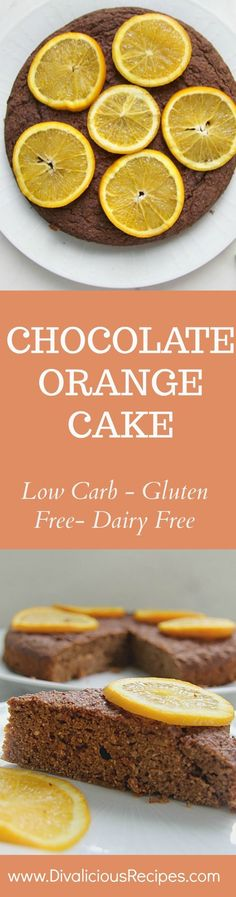 This chocolate orange cake is also dairy free, as well as low carb, keto and gluten free. It's a cake for everyone to enjoy!
