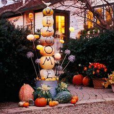 Halloween decorations(10 photos)