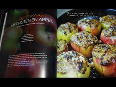 Geitenkaas met noten en appel